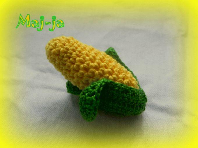вязаная кукуруза