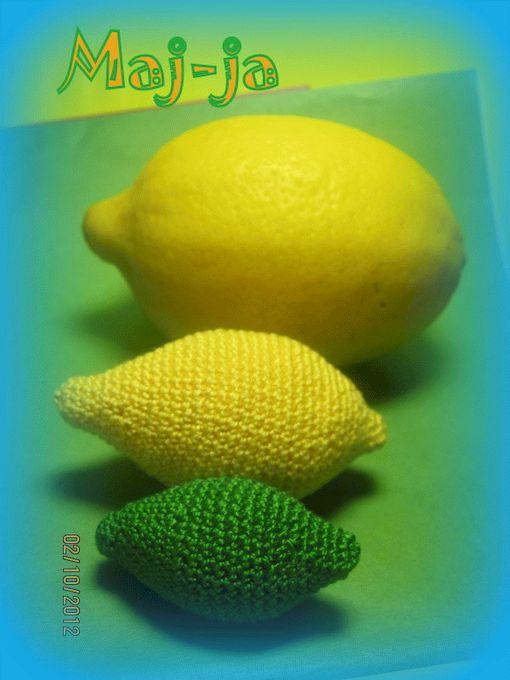 Побольше вязаных фруктов в