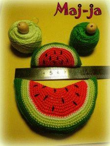 Вязание крючкомарбуз 62