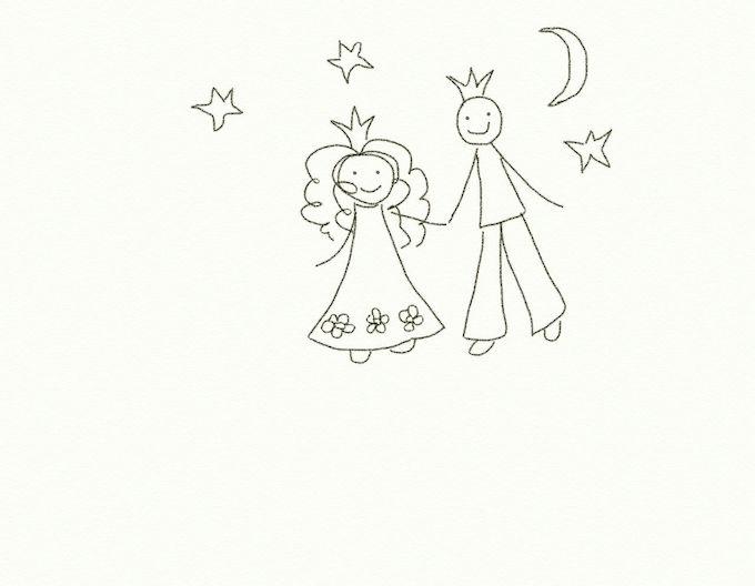 про принцесс и их принцев