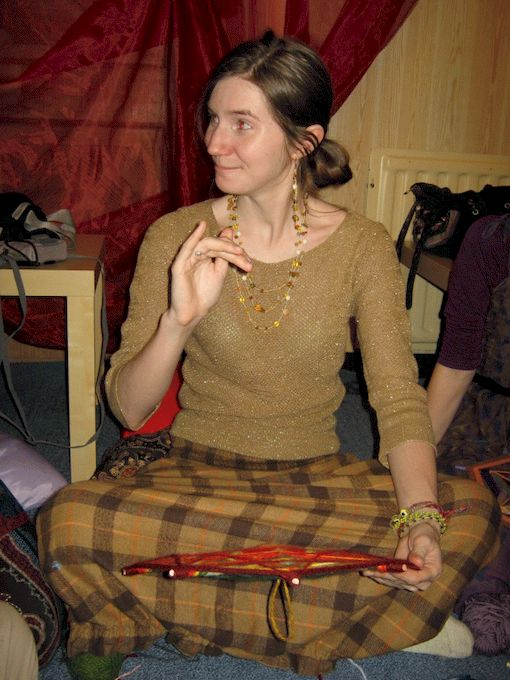 Аня Фенина-главный Мастер по мандалам для меня