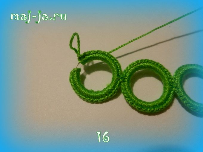 Кольца для вязания крючком 27