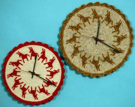 tapestry-crochet-clocks