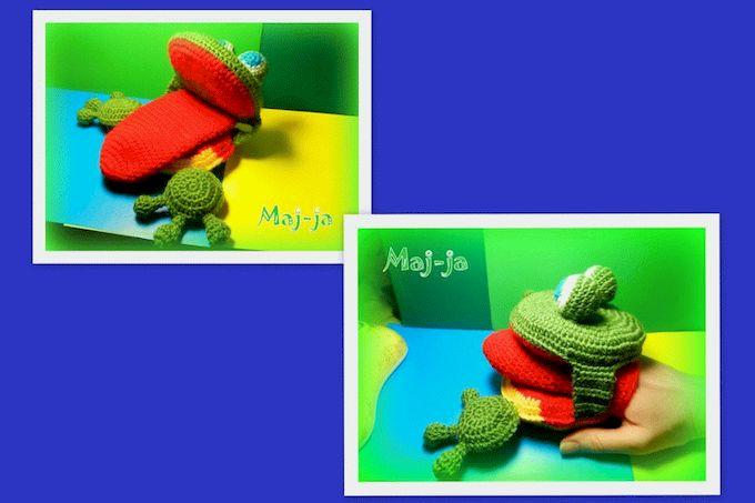 вязанаялогопедическая  лягушка-свяжу на заказ