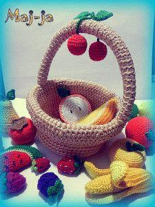 вязаные фрукты и ягоды,вяжу на заказ