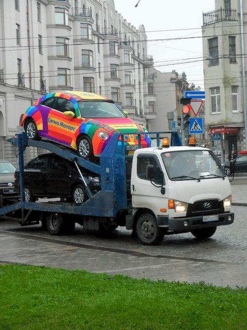 вязаный автомобиль