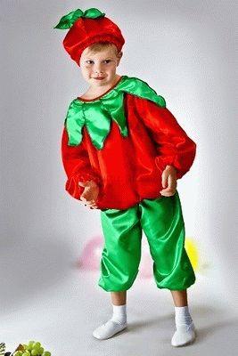 Как сделать костюм овоща или фрукта ребенку