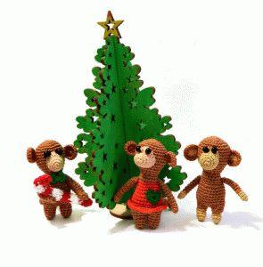 вязаные обезьянки- вяжу на заказ Санкт-Петербург.