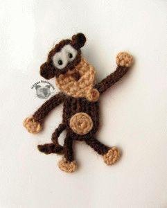 вязаные обезьянки-идеи и мастер-классы.
