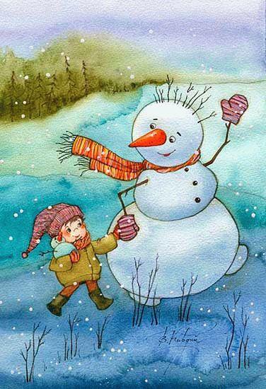 Виктория Кирдий. Зимнее вдохновение.