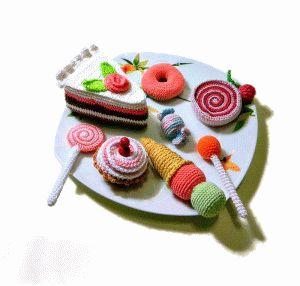 Вязаные сладости- мастер-классы.