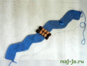 Развивающий коврик своими руками.