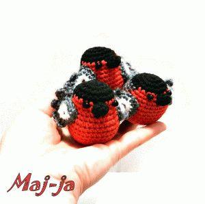crochet robin pattern