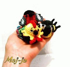 crochet-bird