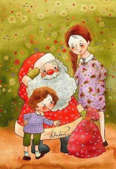 Новогоднее настроение Виктории Кирдий.