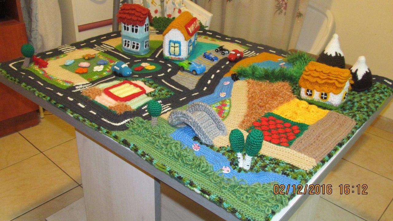 4674e71c44f2 Игровой коврик Ольги Бехтеревой, созданный в моем онлайне Коврик Городок.