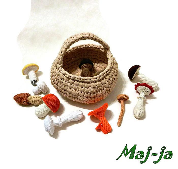 Игровой набор грибов