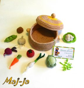 Игровой набор Овощная кастрюлька.