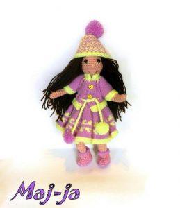 вязаная куколка купить