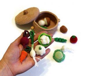 вязаные овощи купить