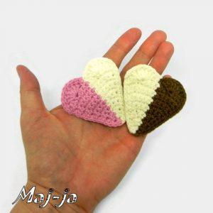 сердечко вязаное схема